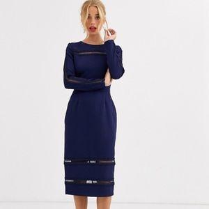 ASOS Paperdolls midi dress
